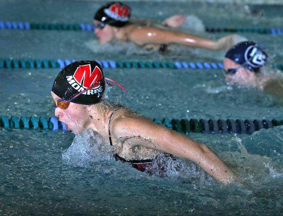 Swimming Monroe