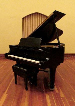MAC piano after dark