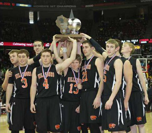 tigers basketball state runner up trophy