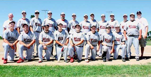 Wiota baseball team 2012 color