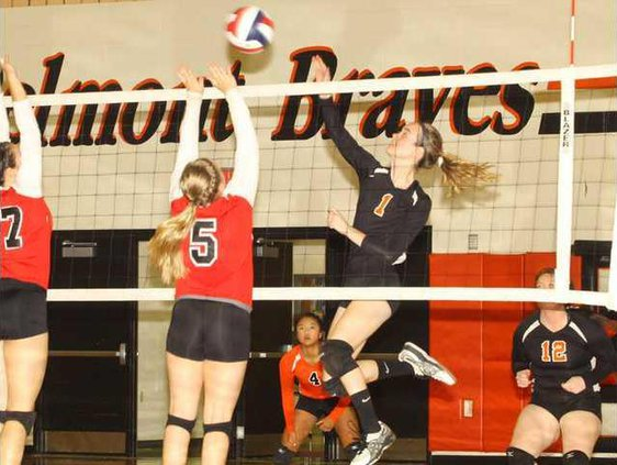 Belmont VB Brook Knebel