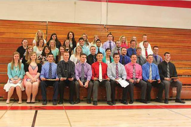 DHS senior awards