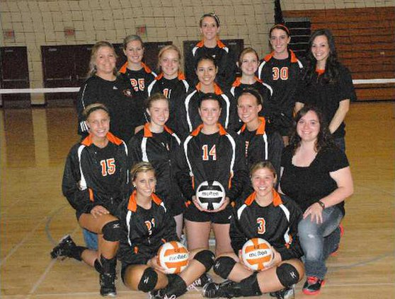 RC volleyball