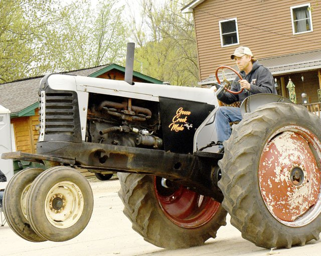 Old Iron Revival Tractor Pull Results - Crawford County