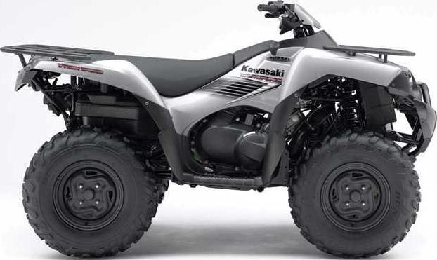 silver ATV
