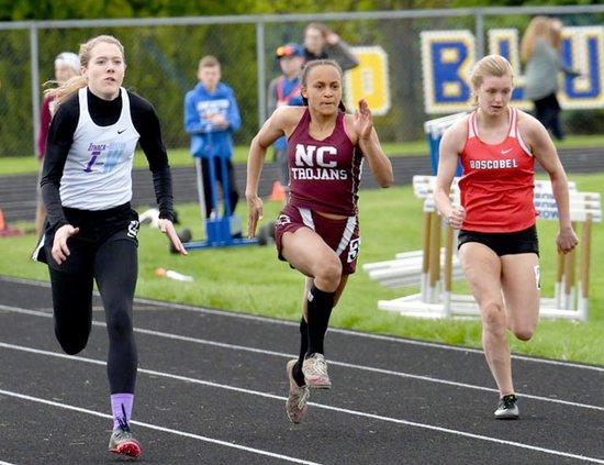Brianna runs