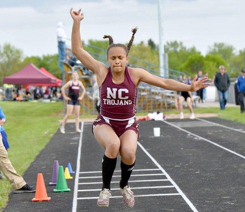 Brianna jumps