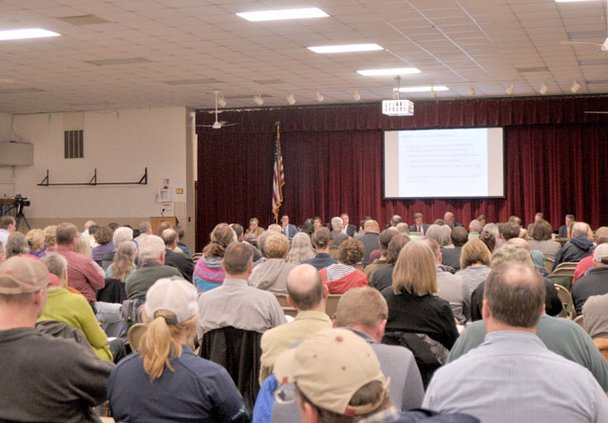 Water Quality Task Force meeting crowd