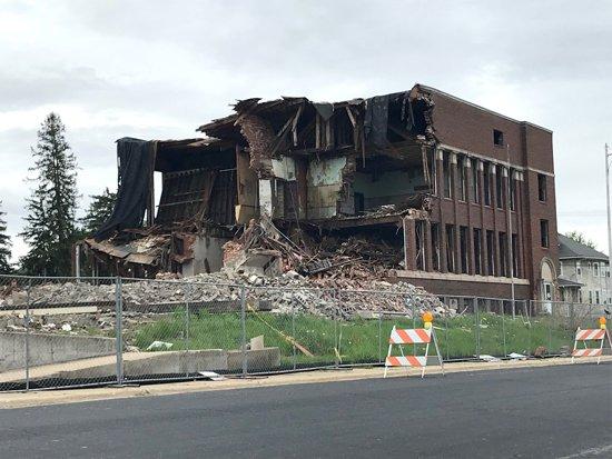 argyle school demolished