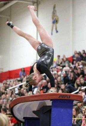 michaela bach state gymnastics