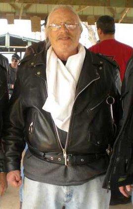 Bezin Robert photo in motorcyle jacket