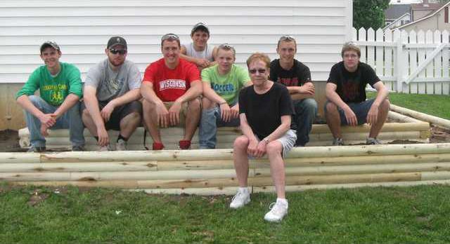 Kathy and crew