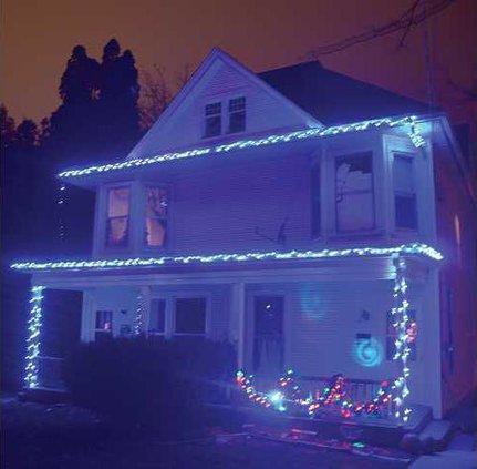 1B blue lights