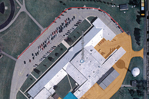 Darlington parking lot