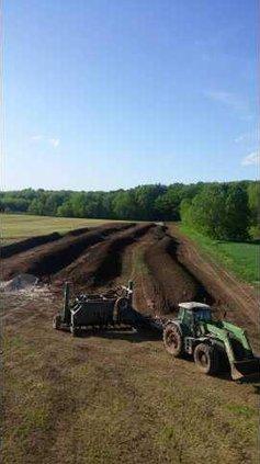Farming Manure Compost
