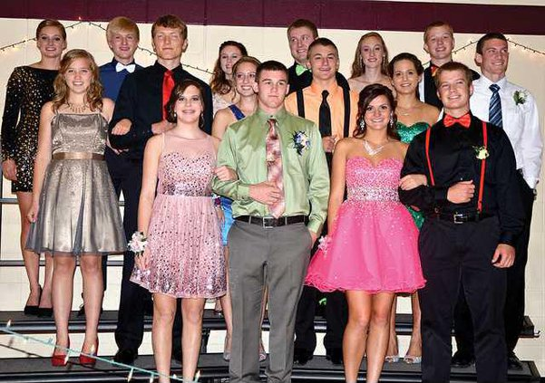 PHS Homecoming court for 2A