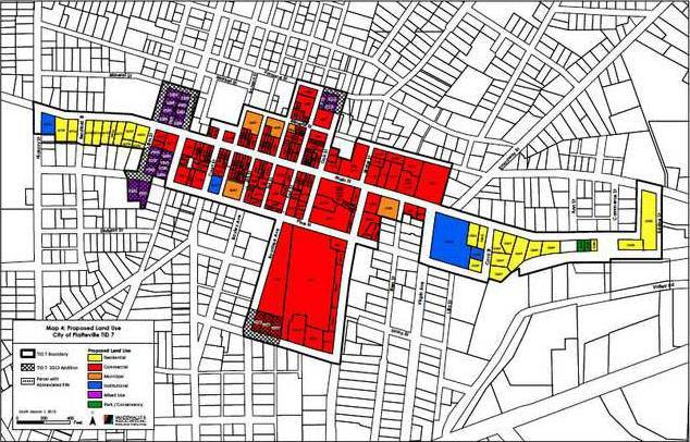 TIF 7 proposal map