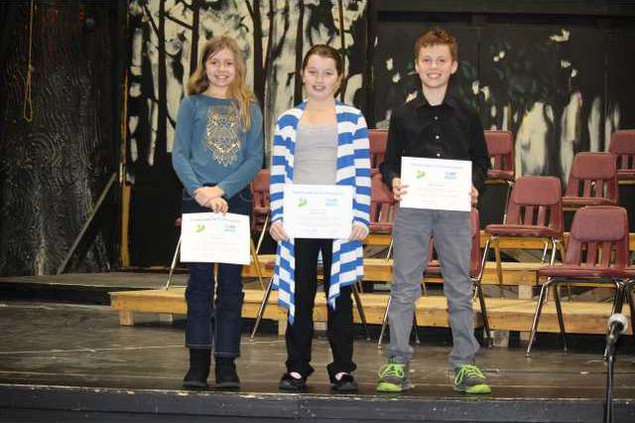 2018 Speaking Contest winners