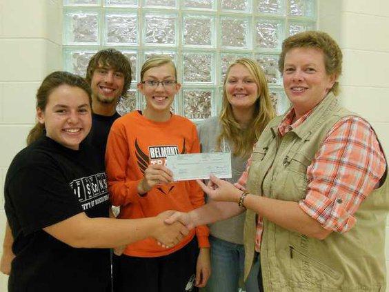 Belmont FFA donation