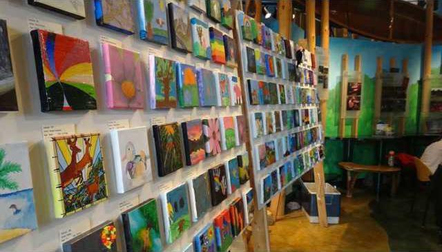 Creative Comm Canvas Exhibit