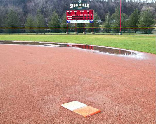 Field puddles color