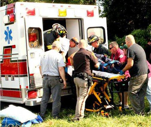 SWATV ambulance