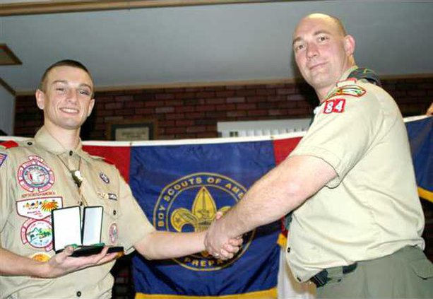 Sinclair Boy Scouts Award
