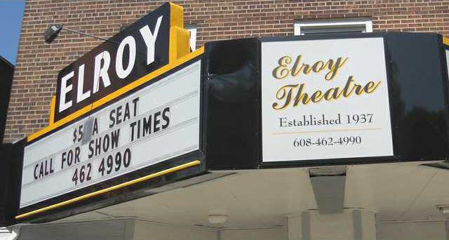 elroy theatre marquee