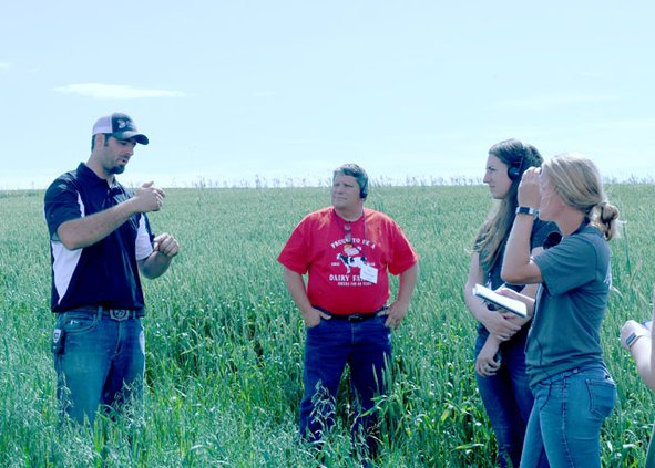 Water Matters Tour_TJ IN FIELD