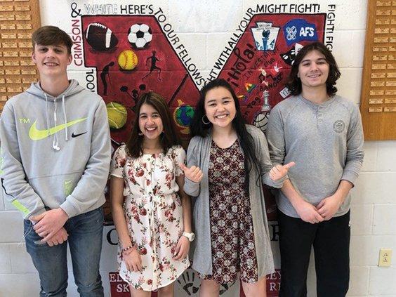 monroe exchange students