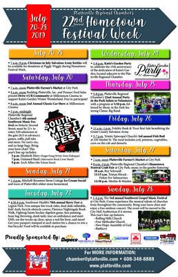 2019 Hometown Festival Week