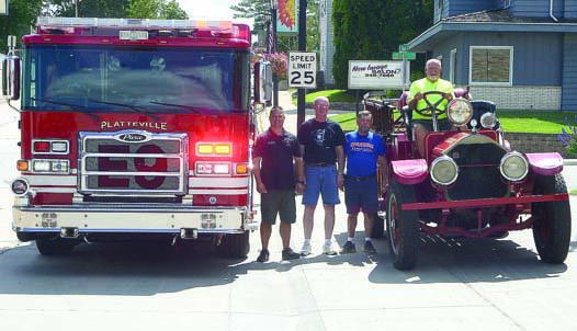 Platteville fire trucks