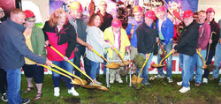 Legion Park Event Center groundbreaking