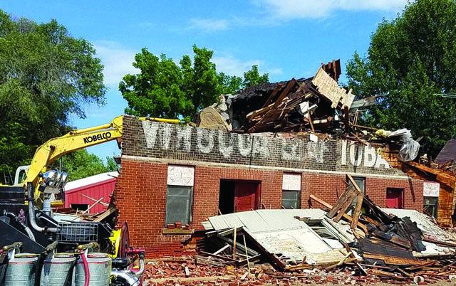 Blue River Warehouse Demolition