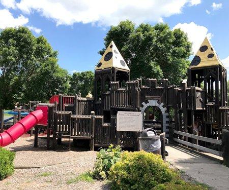 swiss alps playground
