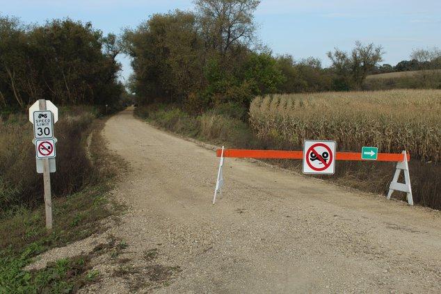 Belmont-Calamine trail
