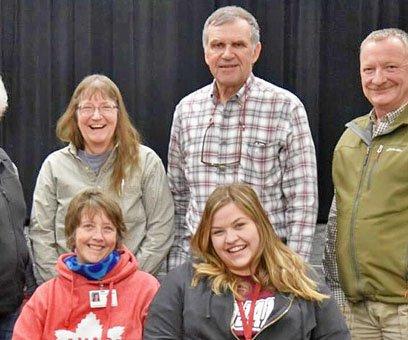 NCCEF board and 2018 grantees