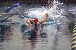 Francesca Schiro 200 relay