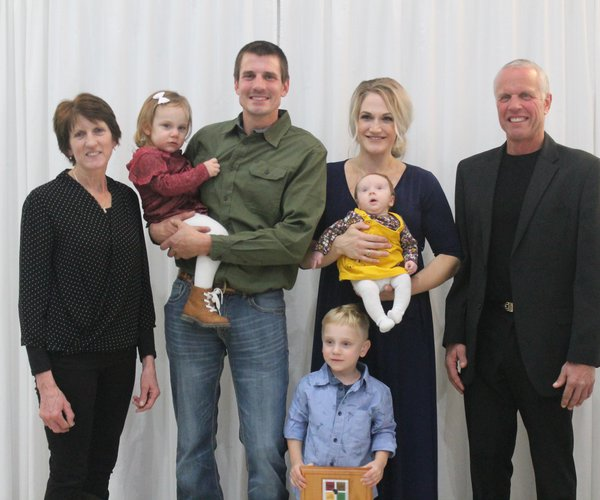Outstanding Young Farmer,  Farm Wives awards presented
