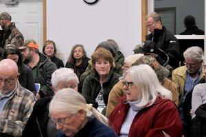 Meeting in Marietta Town Hall