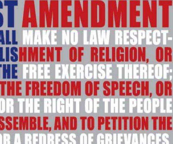 First Amendment flag